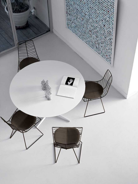 Arper Eolo tafel H74 rond 158