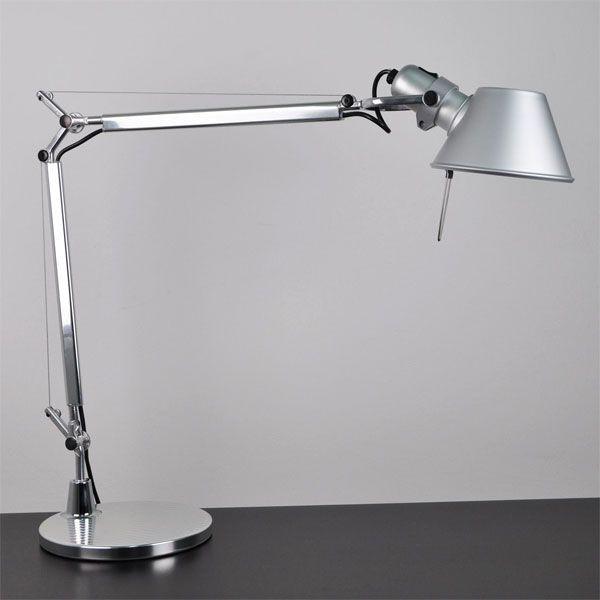 Artemide Tolomeo Mini bureaulamp Halo aluminium