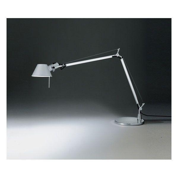 Artemide Tolomeo bureaulamp Halo armatuur aluminium