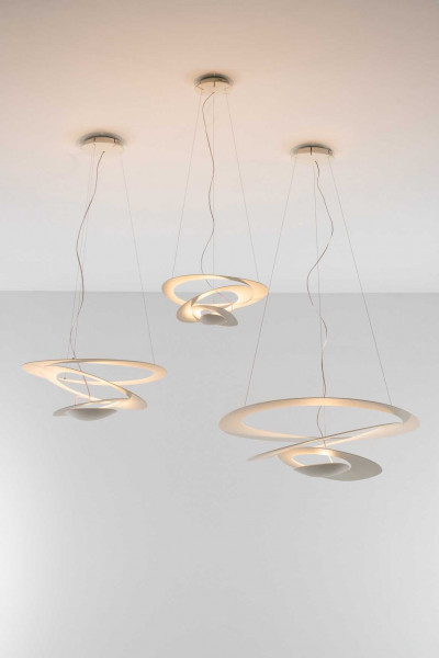 Artemide Pirce Mini Soffitto plafondlamp Halo wit