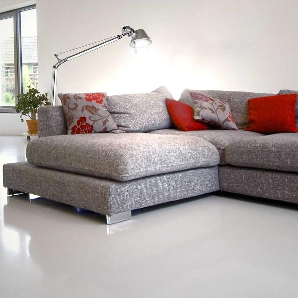 Artemide Tolomeo Lettura vloerlamp met aluminium voet