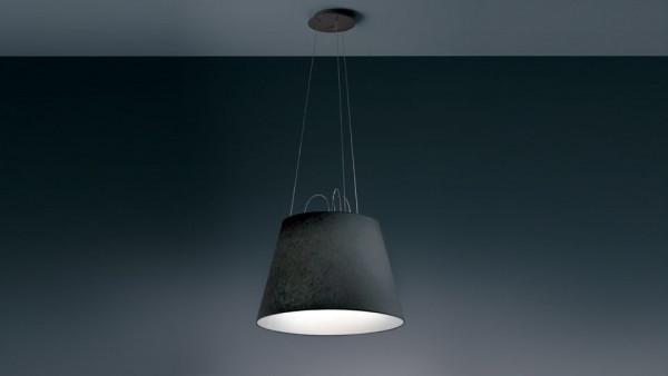 Artemide Tolomeo Mega Sospensione hanglamp armatuur zwart