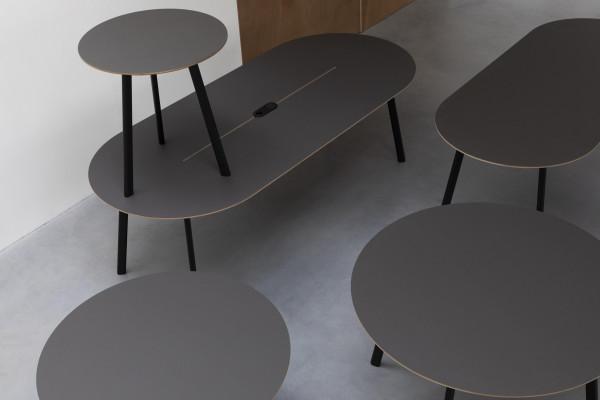 Banne Oval eettafel 230x100 rechthoek