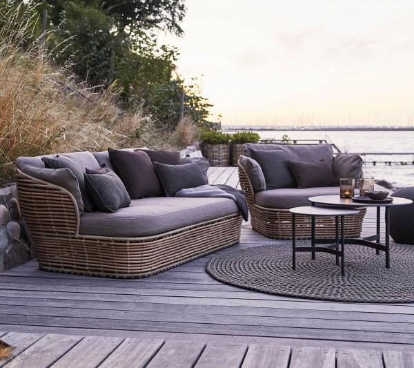 Cane-Line Basket 2-zits loungebank
