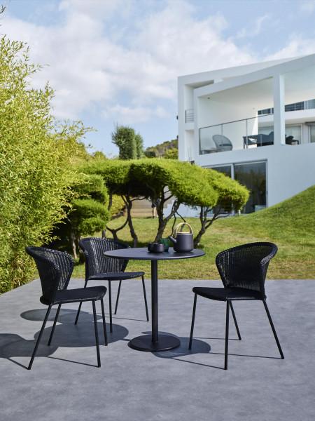 Cane-Line Lean stapelbare tuinstoel