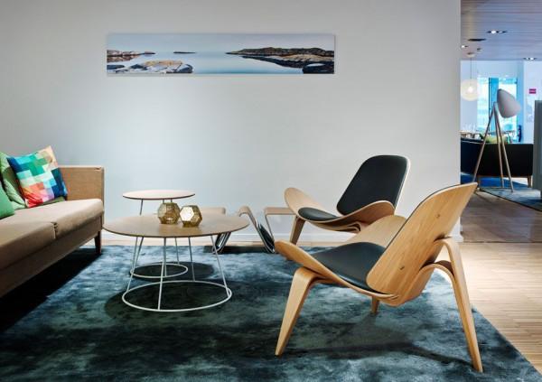 Carl Hansen & Son CH07 Shell fauteuil