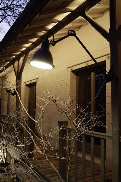DCW éditions Lampe Gras N222 XL Outdoor Seaside wandlamp