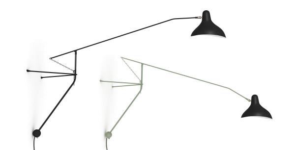 DCW éditions Lampe Mantis BS2 wandlamp
