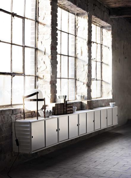 String Furniture Dressoir large, grijs