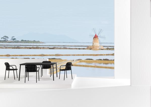 Emu Yard tuinset 160x98 tafel + 4 stoelen (chair)