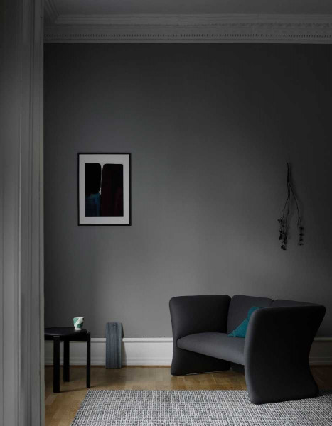 Fabula Living Tanne grijs/wit vloerkleed