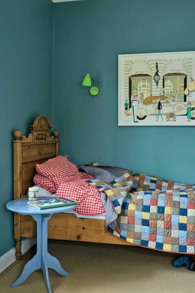 Farrow & Ball Hout- en metaalverf binnen Oval Room Blue (85)