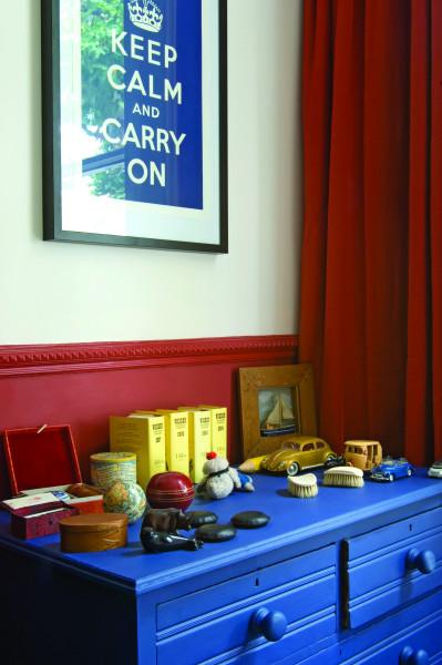 Farrow & Ball Krijtverf Drawing Room Blue (253)