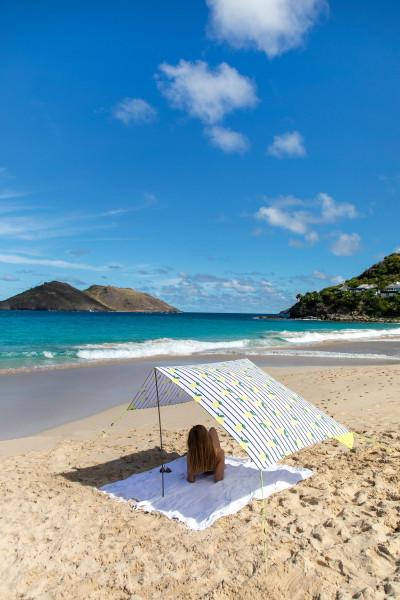 Fatboy Tweedekansje - Miasun draagbare strandtent parasol Biarritz
