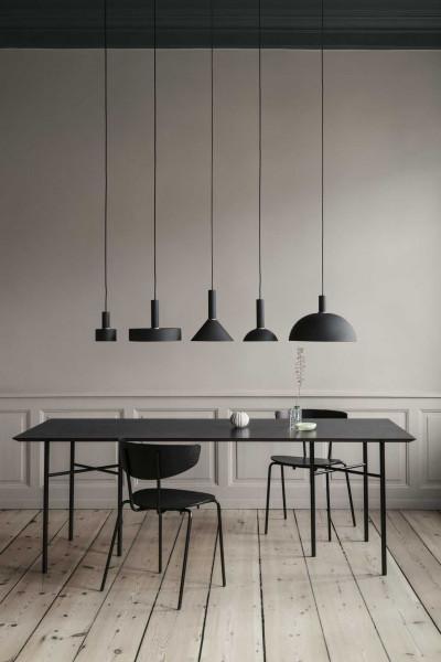 Ferm Living Disc Black hanglamp