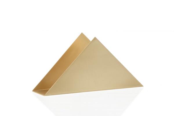 Ferm Living Brass Triangle Stand opberger