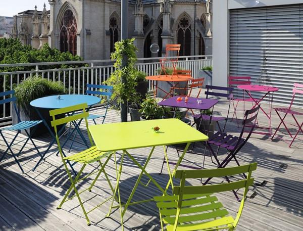 Fermob Bistroset tuin 37x57 tafel + 2 stoelen