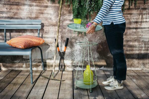 Fermob Luxembourg tuinbank met rugleuning