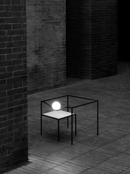 Flos Heco square table LED vloerlamp
