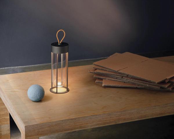 Flos InVitro unplugged tafellamp oplaadbaar