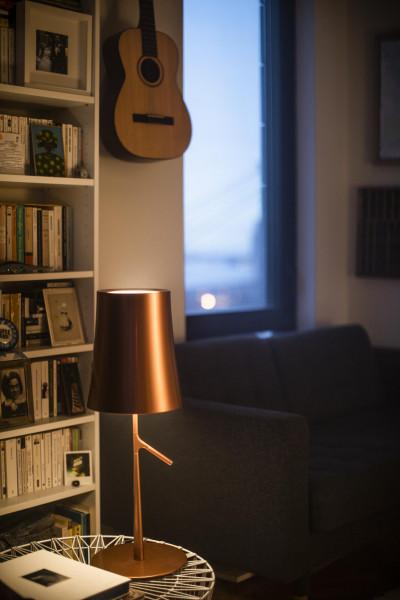 Foscarini Birdie Grande tafellamp LED met touchdimmer
