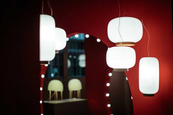 Foscarini Chouchin Reverse 2 hanglamp LED dimbaar groen