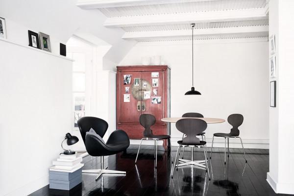 Fritz Hansen A603 tafel 100x100