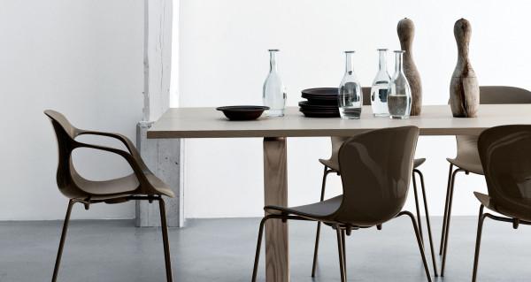 Fritz Hansen NAP Chair stoel zonder armleuningen
