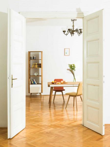 Gazzda Ena planken kast 60x42x196 whitewash