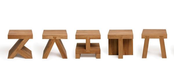 Gelderland Small Squares salontafel 40x40