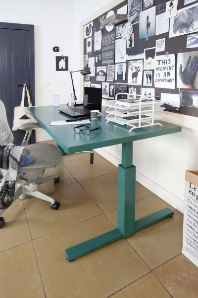 Gispen SteelTop bureau (hoogte verstelbaar)