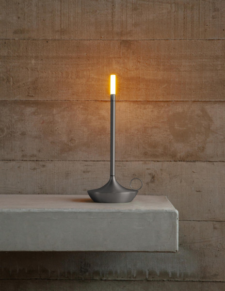 Graypants Wick tafellamp oplaadbaar