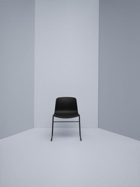Hay About a Chair AAC08 stoel met wit onderstel