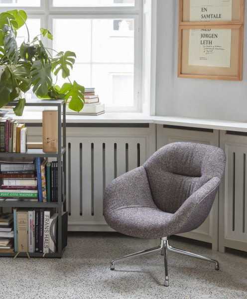 Hay AAL81 Soft Duo fauteuil remix 852, steelcut trio 195