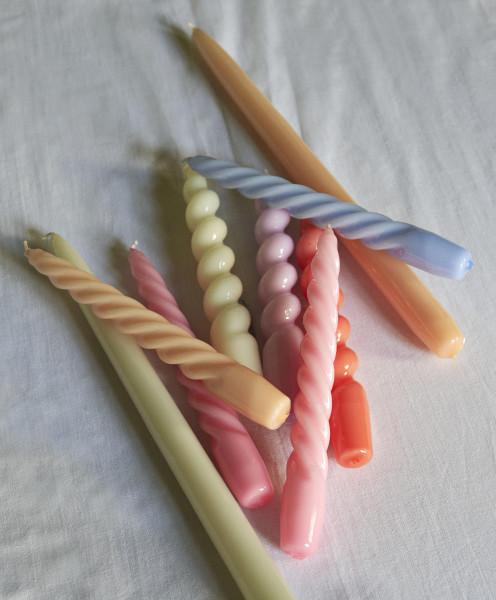 Hay Candle Twist kaarsen set van 6