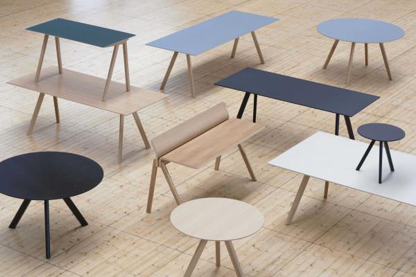 Hay Copenhague CPH25 tafel gezeept eiken 140