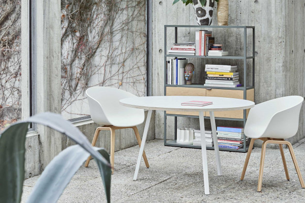 Hay Copenhague eetkamerset + 4 AAC22 stoelen