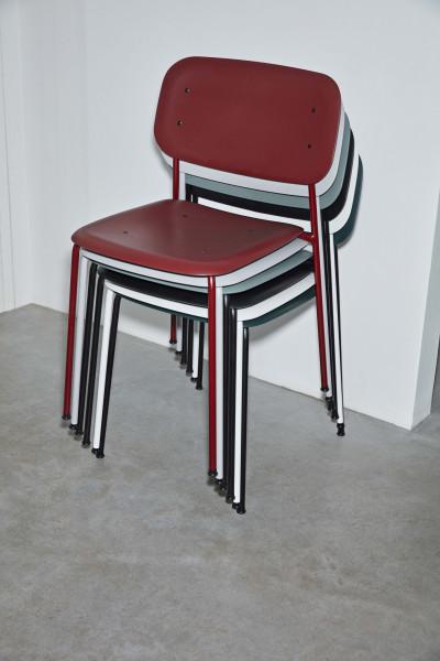 Hay Soft Edge Steel stoel