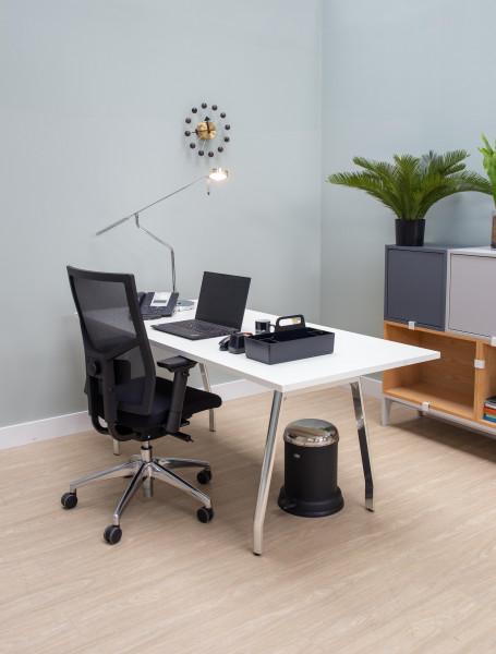 Hembridge Forster bureaustoel NEN Edition Mesh A1 zwart