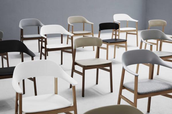 Normann Copenhagen Herit Armchair Oak stoel