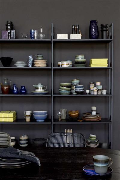 HKliving 70's Ceramic mok set van 6