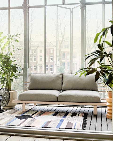 HKliving Hand Woven Indoor/Outdoor vloerkleed 120x180