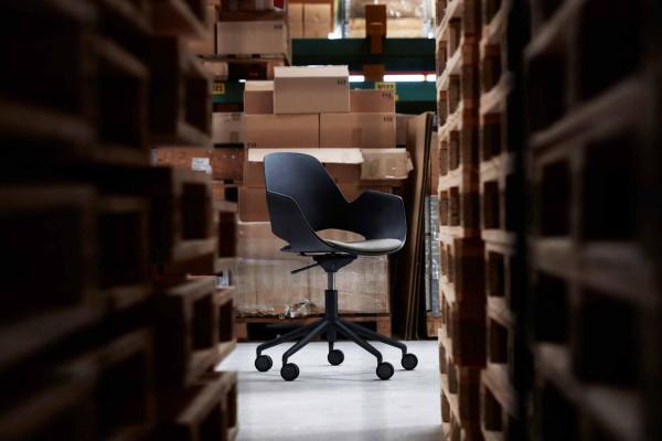 Houe Falk bureaustoel zwart