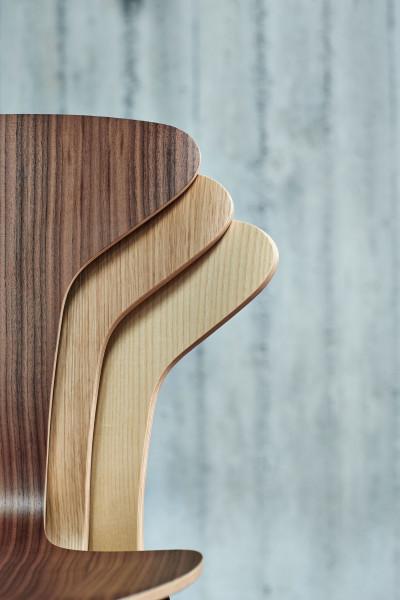Howe Munkegaard Chrome stoel