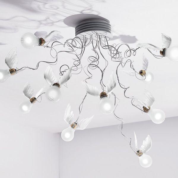 Ingo Maurer Birdie's Nest plafondlamp LED