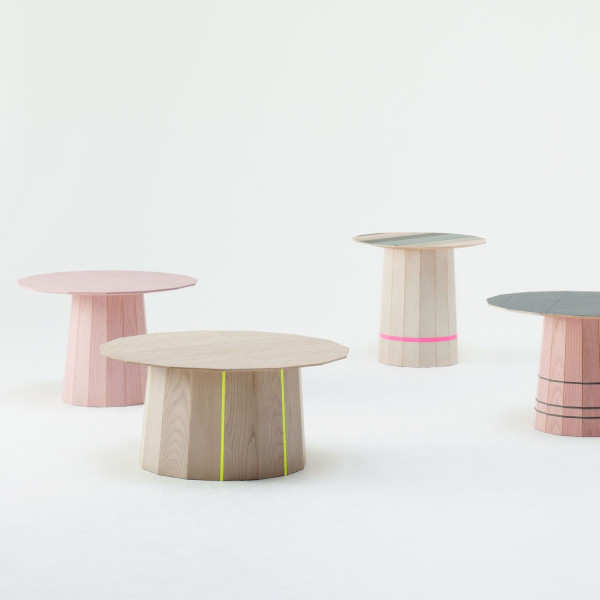Karimoku New Standard Colour Wood bijzettafel 60