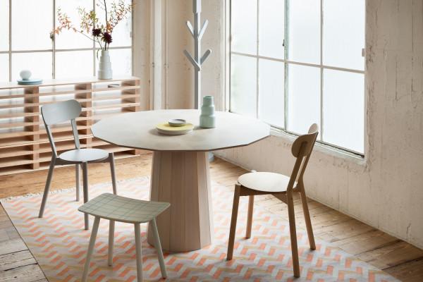 Karimoku New Standard Colour Wood Dining tafel 120