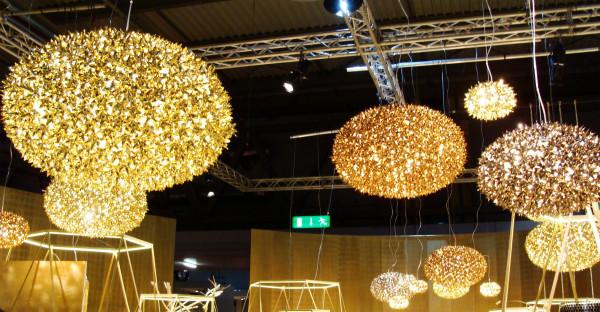 Kartell Bloom hanglamp metallic