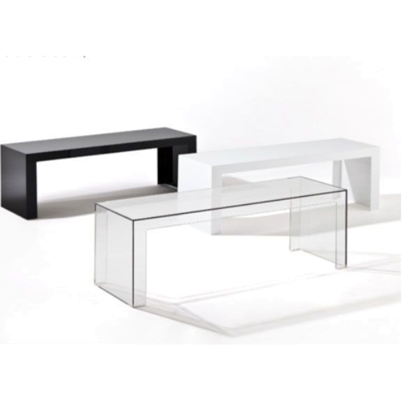 Kartell Invisible bijzettafel low 120x40