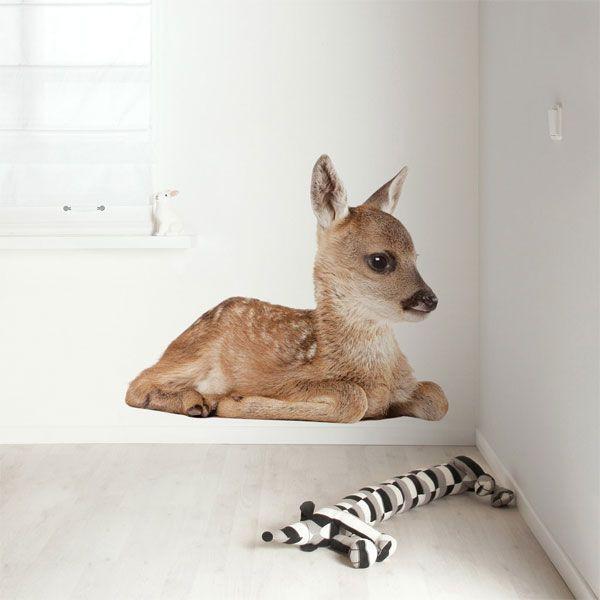 KEK Amsterdam Forest Friend Deer muursticker